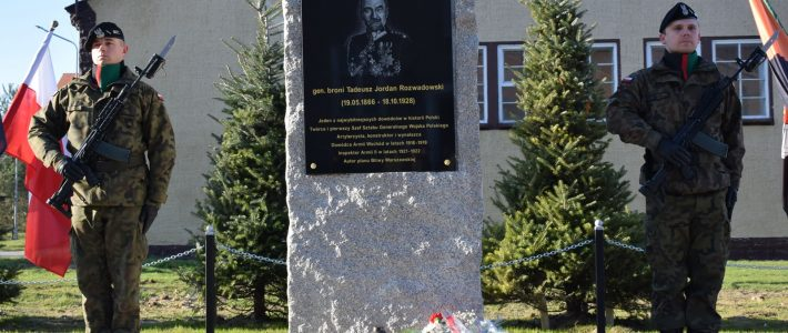 23rd Silesian Artillery Regiment received the name of General Tadeusz Jordan – Rozwadowski